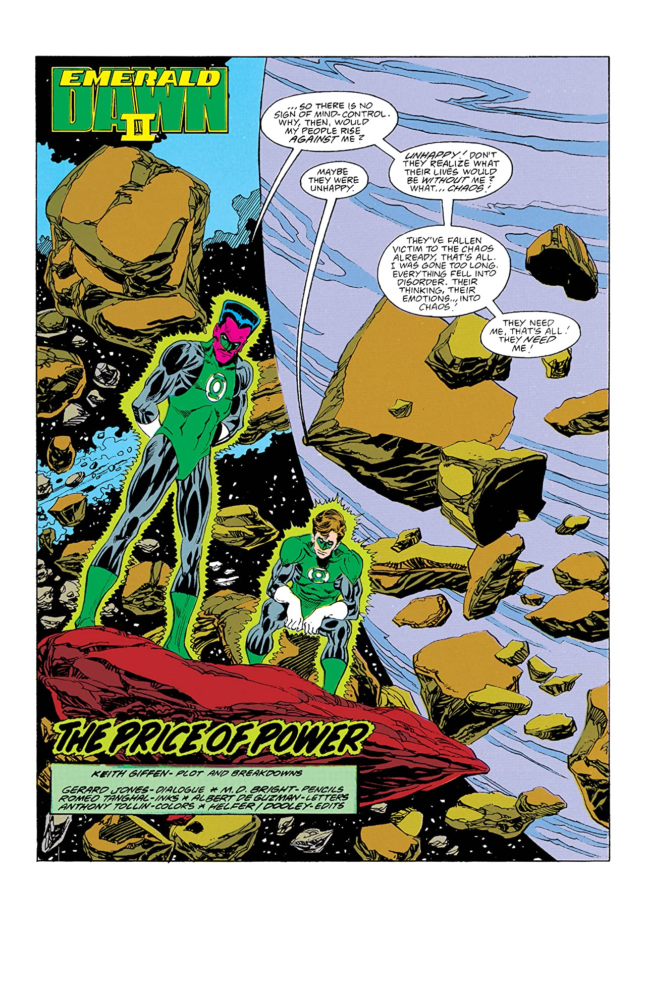 Green Lantern: Emerald Dawn II (1991) #5
