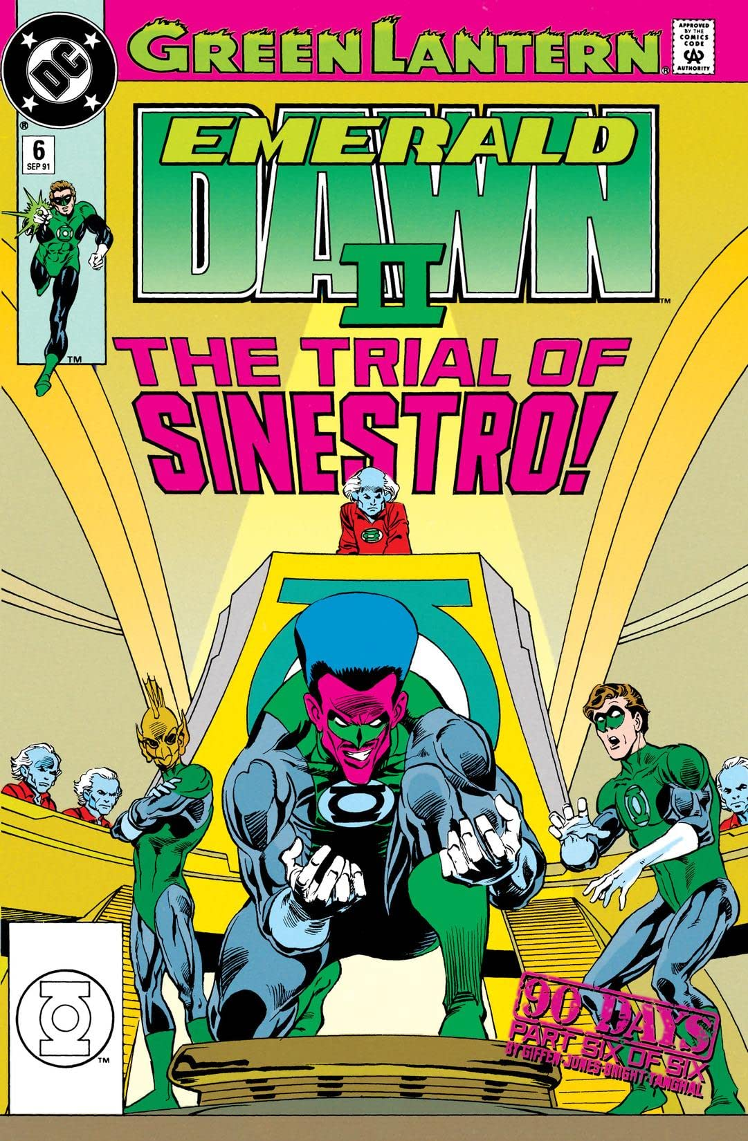 Green Lantern: Emerald Dawn II (1991) #6