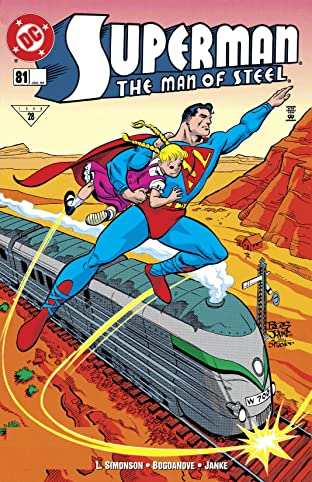 Superman: The Man of Steel (1991-2003) #81