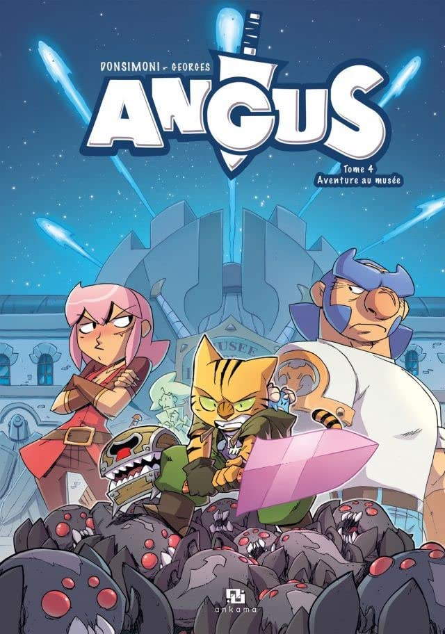 Angus Vol. 4: Aventure au musée