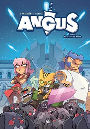 Angus Tome 4: Aventure au musée