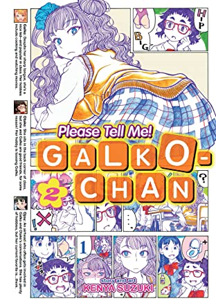 Please Tell Me! Galko-chan Vol. 2