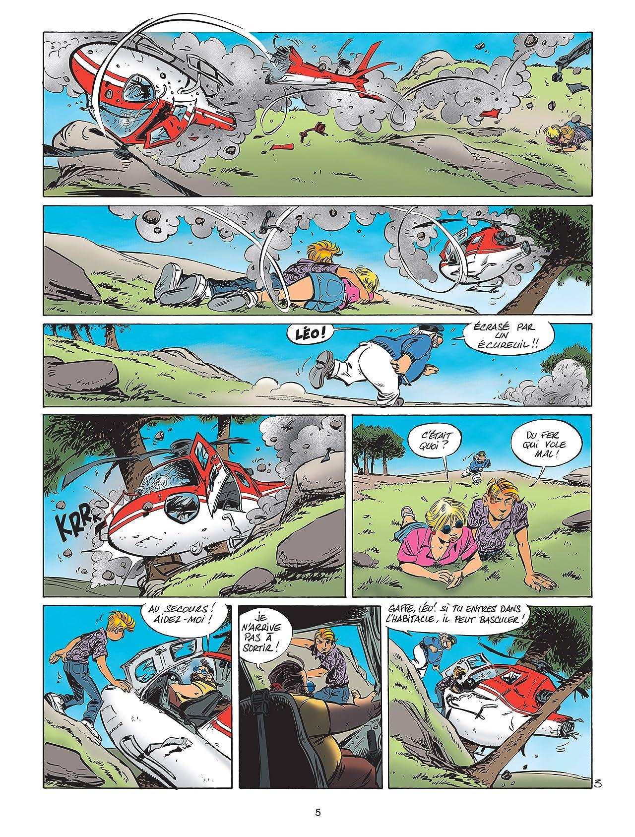 Léo Loden Tome 17: Hélico Pest