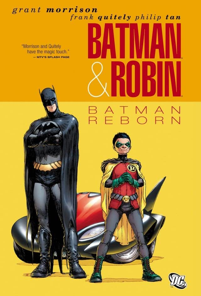 Batman and Robin (2009-2011) Vol. 1: Batman Reborn