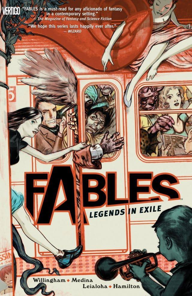 Fables Tome 1 Legends In Exile Comics De Comixology Web