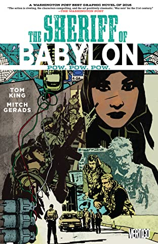 Sheriff of Babylon (2015-2016) Tome 2: Pow. Pow. Pow.