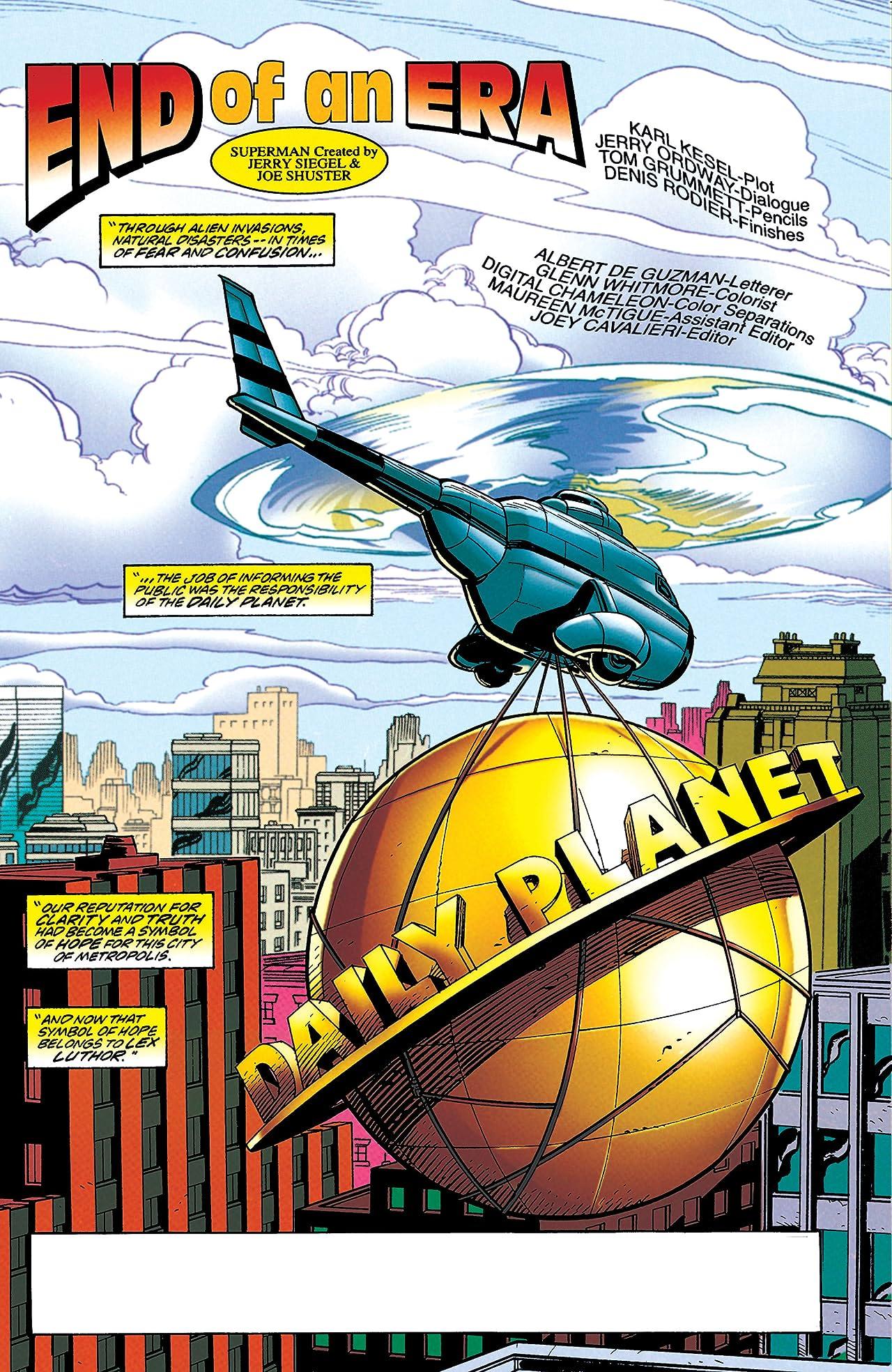 Adventures of Superman (1986-2006) #562
