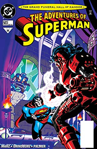 Adventures of Superman (1986-2006) #563