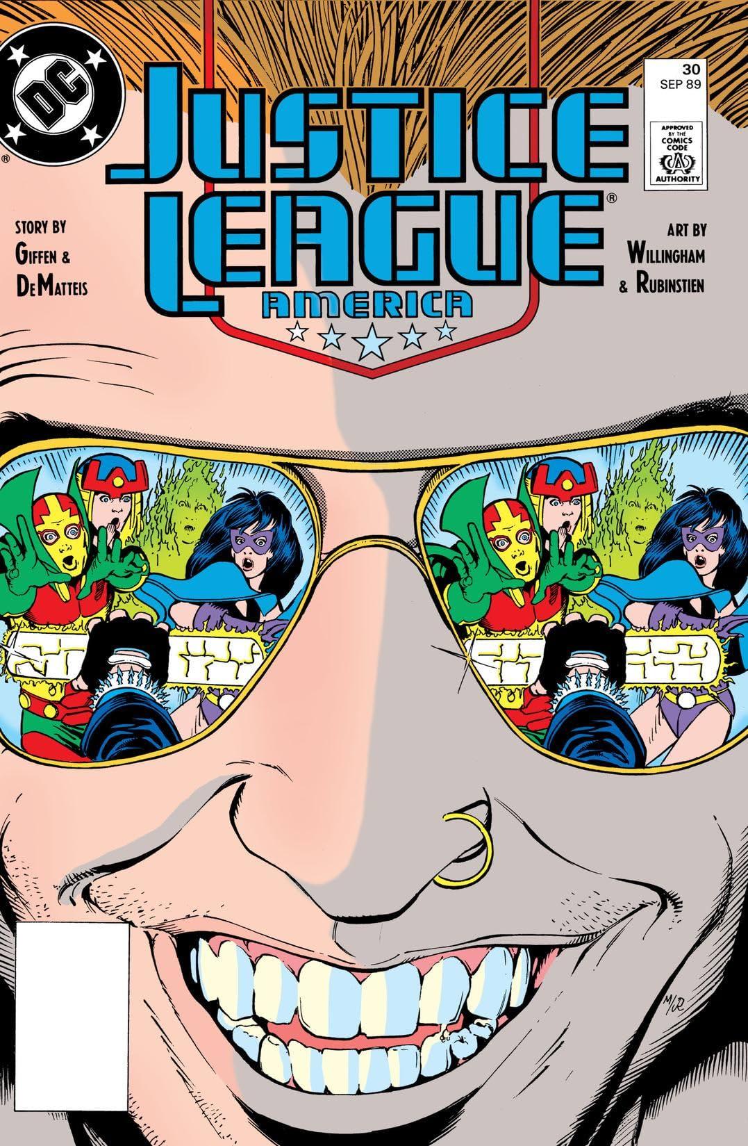 Justice League America (1987-1996) #30