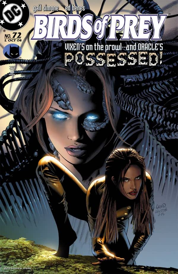 Birds of Prey (1999-2009) #72