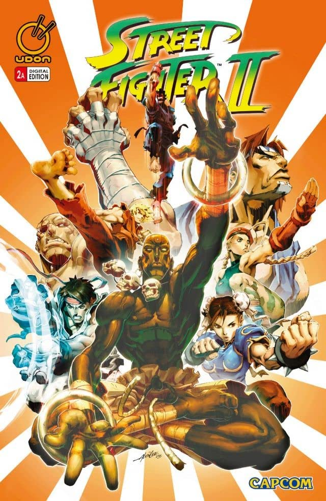 Street Fighter Ii 2 Comics By Comixology