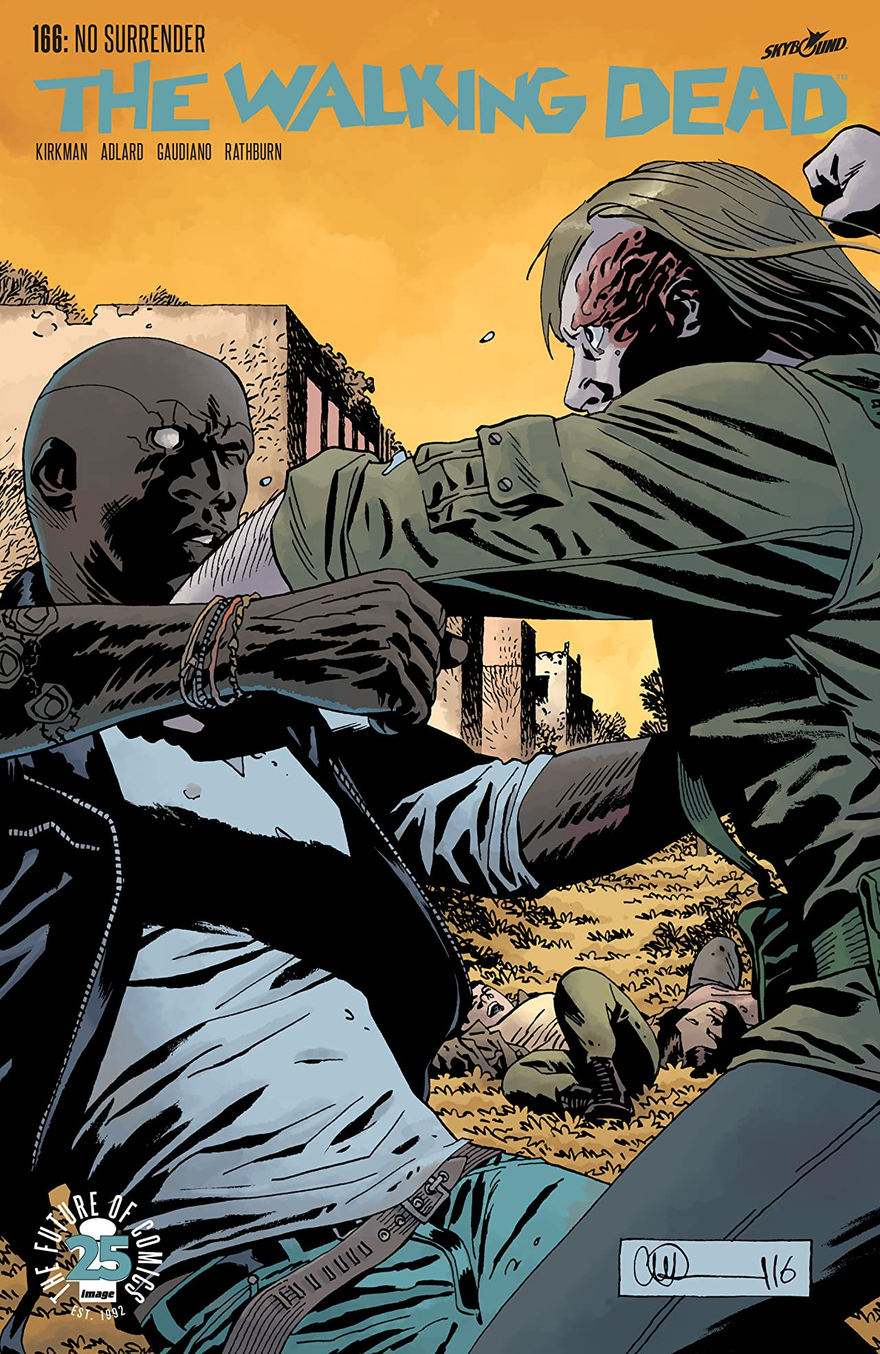 The Walking Dead #166