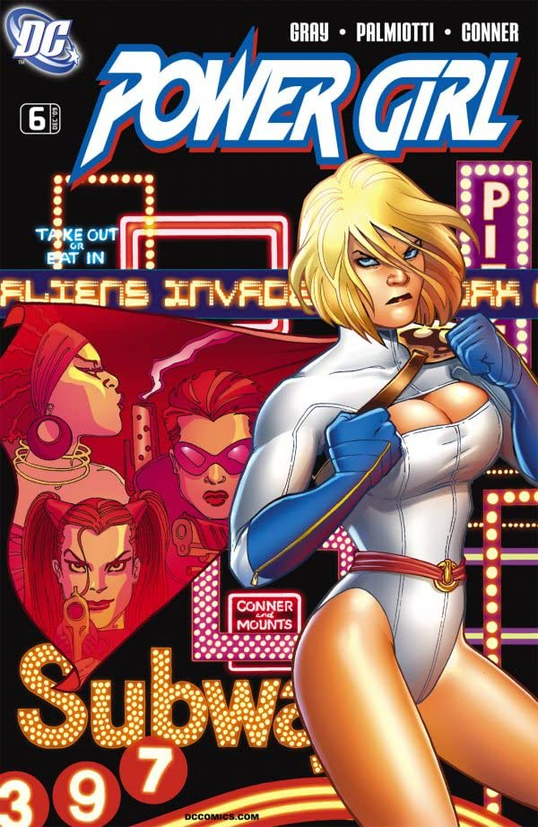 Power Girl #6