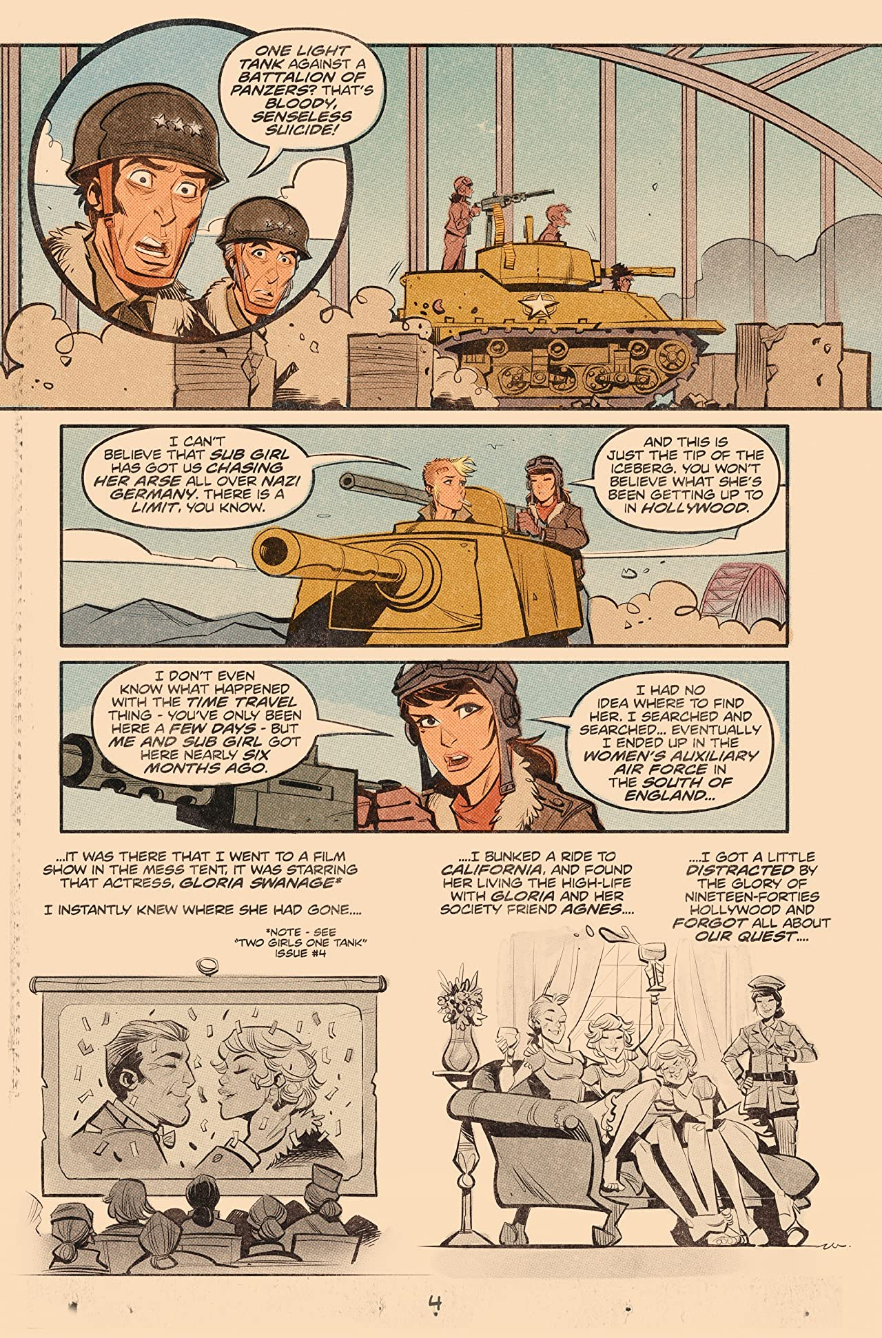 Tank Girl: World War Tank Girl #3