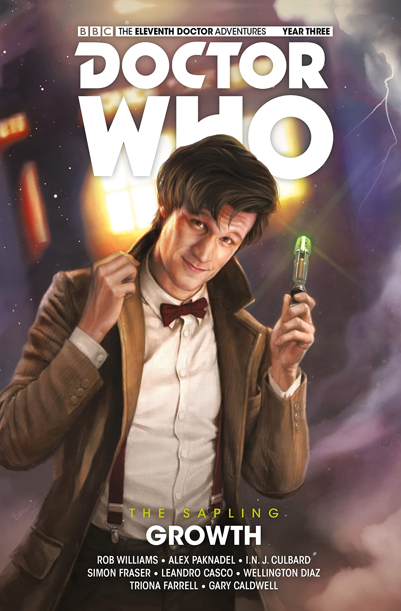 Doctor Who: The Eleventh Doctor: The Sapling Volume 1: Growth