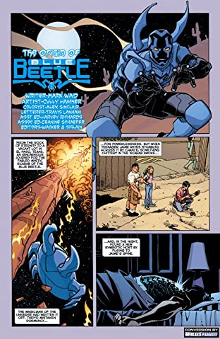 The Origin of Blue Beetle #1