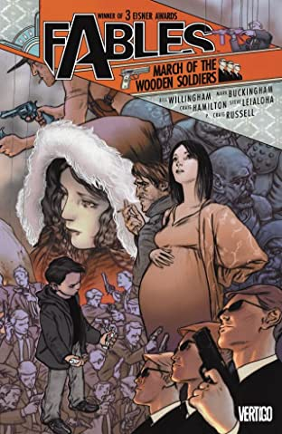 Fables Tome 4: March of the Wooden Soldiers