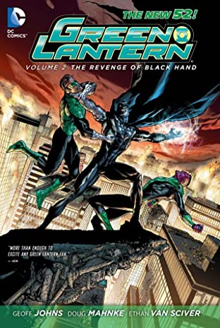 Green Lantern (2011-2016) Tome 2: Revenge of the Black Hand