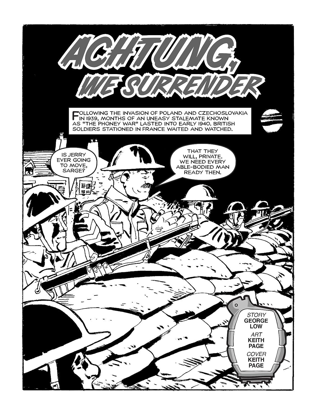 Commando #4991: Achtung, We Surrender