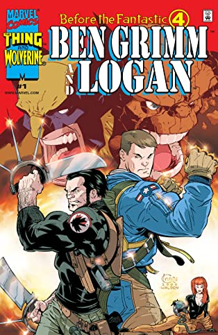 Before The Fantastic Four: Ben Grimm & Logan (2000) #1 (of 3)