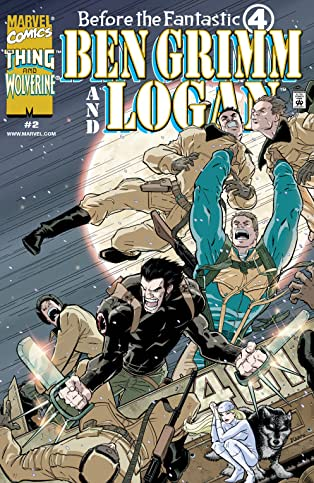 Before The Fantastic Four: Ben Grimm & Logan (2000) #2 (of 3)