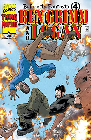 Before The Fantastic Four: Ben Grimm & Logan (2000) No.3 (sur 3)