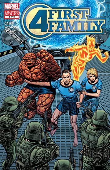 Fantastic Four: First Family (2006) #2 (of 6)