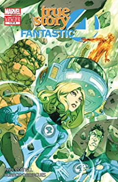 Fantastic Four: True Story (2008) #1 (of 4)