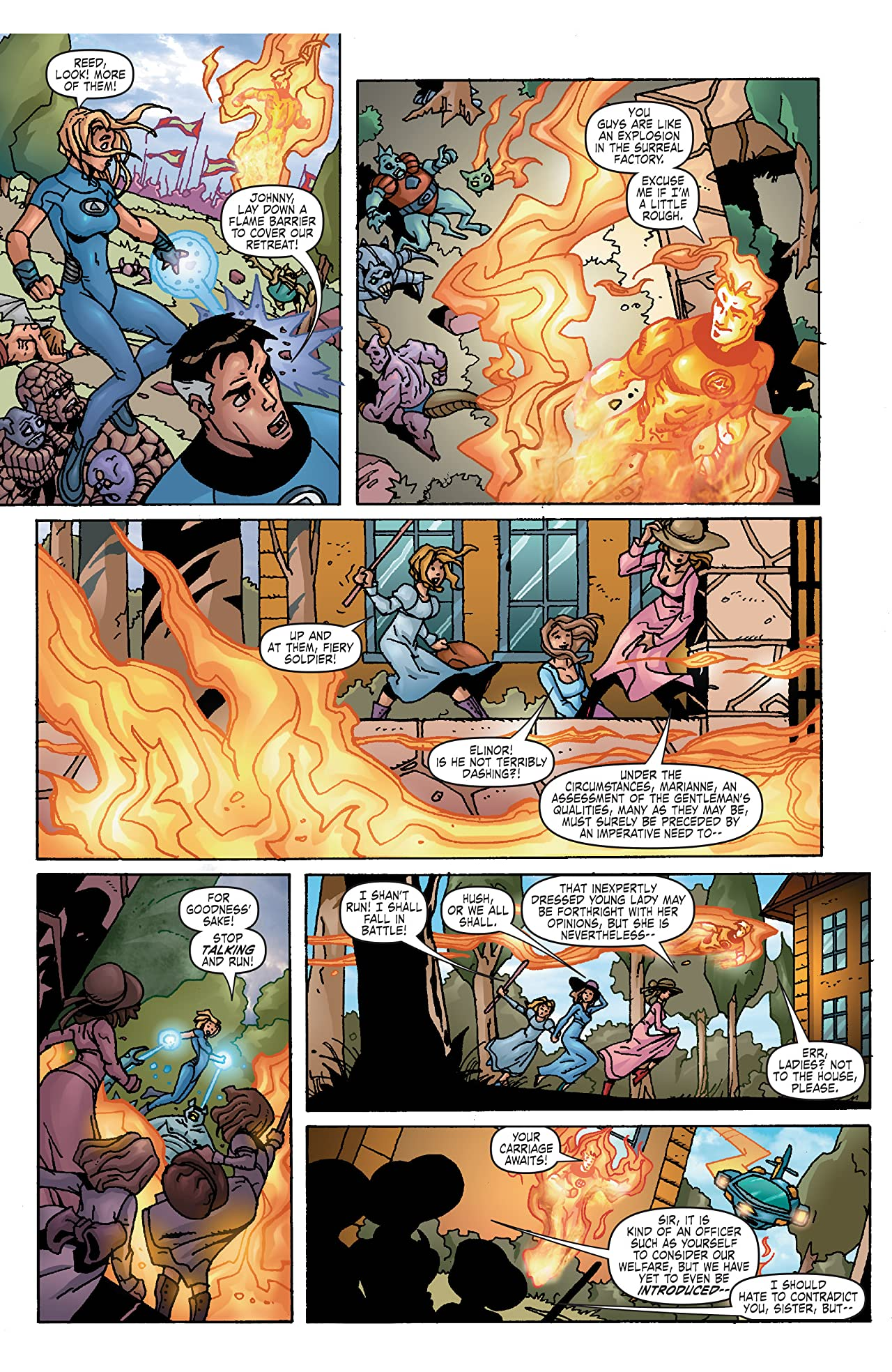 Fantastic Four: True Story (2008) #2 (of 4)
