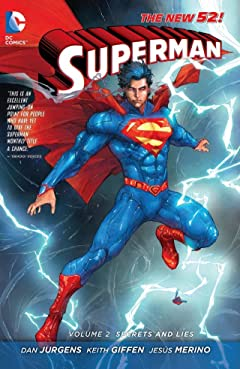Superman (2011-2016) Tome 2: Secrets & Lies