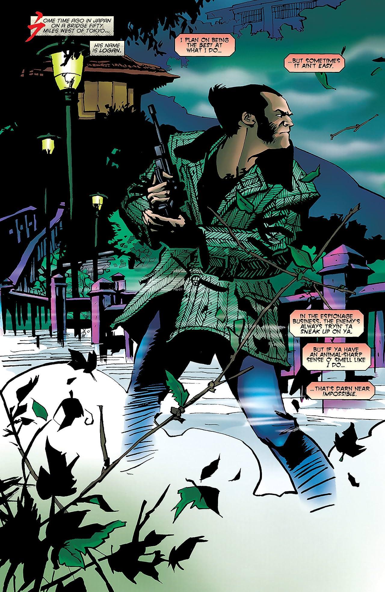 Logan: Path of the Warlord (1996) #1