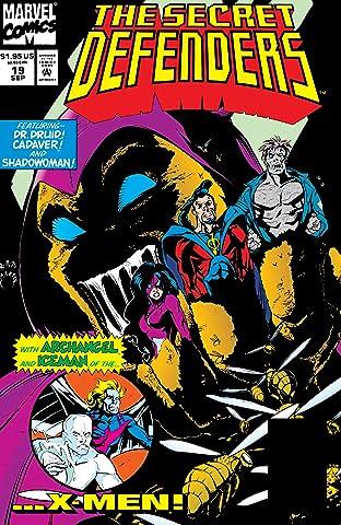 Secret Defenders (1993-1995) #19