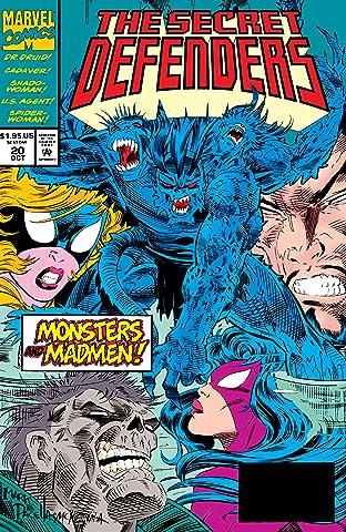 Secret Defenders (1993-1995) #20