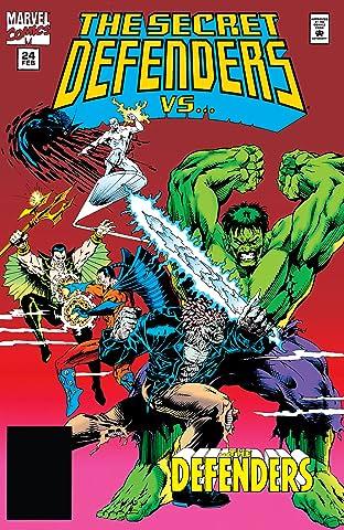Secret Defenders (1993-1995) #24
