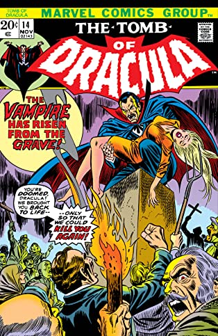 Tomb of Dracula (1972-1979) #14