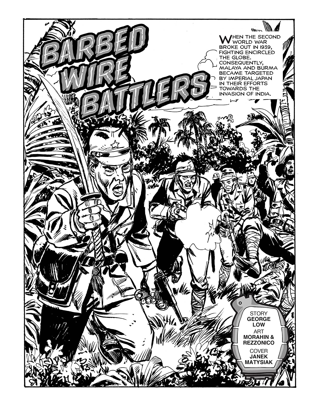 Commando #4993: Barbed Wire Battlers