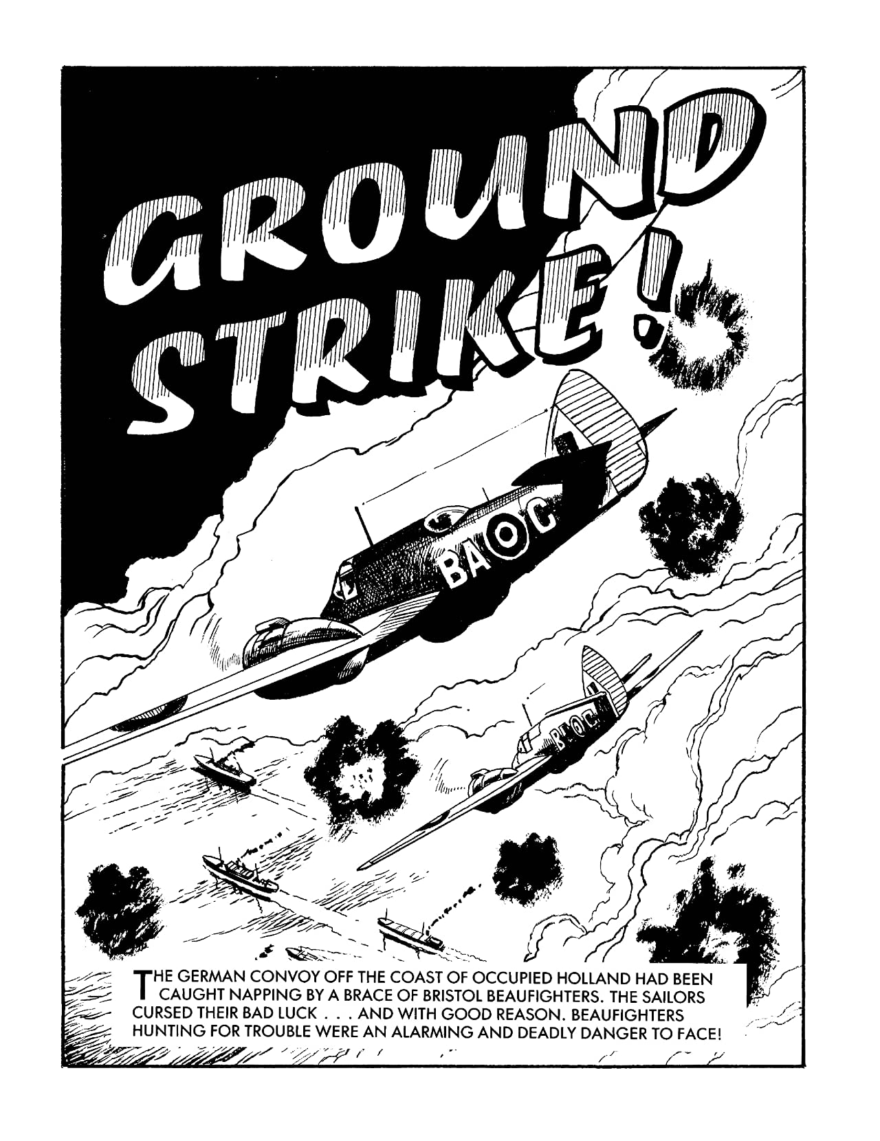 Commando #4994: Ground Strike!