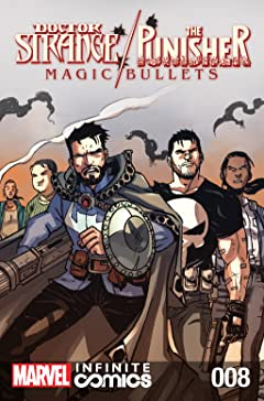 Doctor Strange/Punisher: Magic Bullets Infinite Comic #8 (of 8)