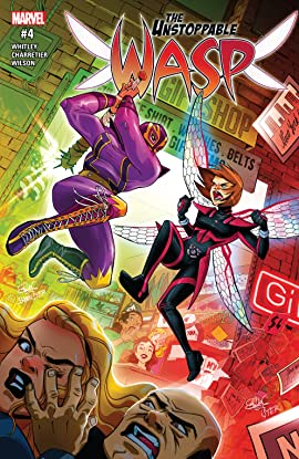 The Unstoppable Wasp (2017) No.4