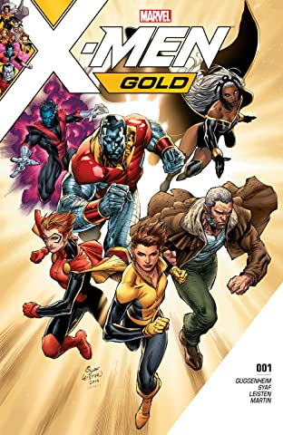 X-Men Gold (2017-2018) No.1