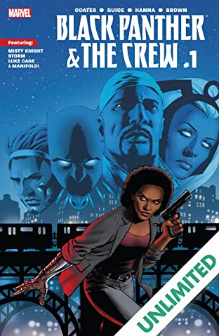 Black Panther And The Crew (2017) #1