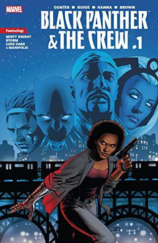 Black Panther And The Crew (2017) No.1
