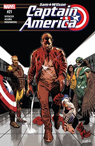Captain America: Sam Wilson (2015-2017) No.21