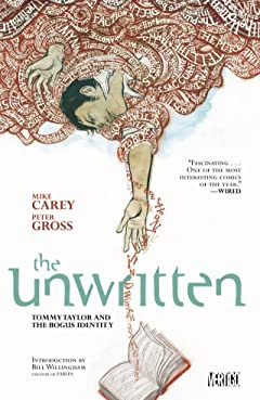 The Unwritten Tome 1: Tommy Taylor and the Bogus Identity