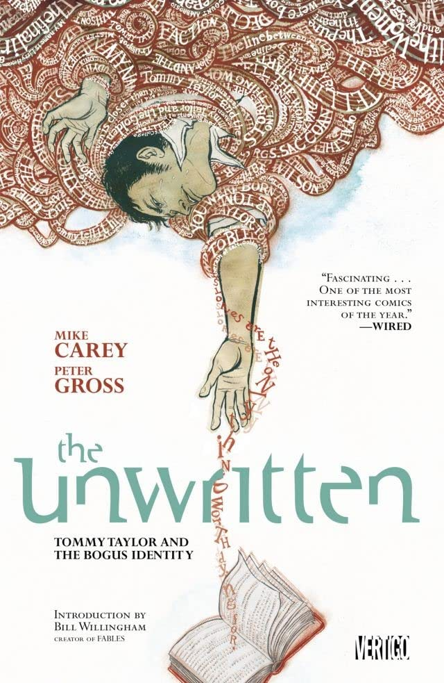 The Unwritten Vol. 1: Tommy Taylor and the Bogus Identity