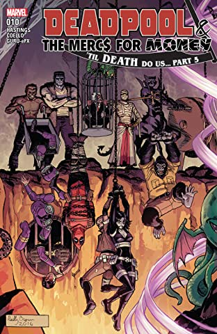 Deadpool & The Mercs For Money (2016-2017) No.10