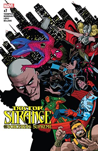 Doctor Strange and the Sorcerers Supreme (2016-2017) #7