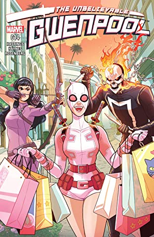 Gwenpool, The Unbelievable (2016-2018) #14