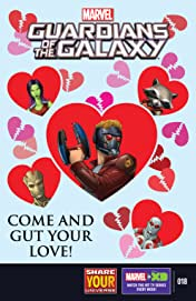 Marvel Universe Guardians of the Galaxy (2015-2017) #18