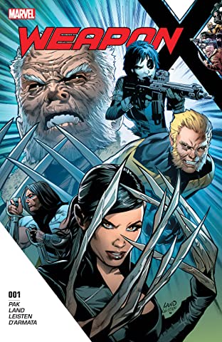 Weapon X (2017-) No.1